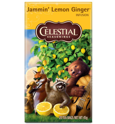 Jammin' lemon ginger tea