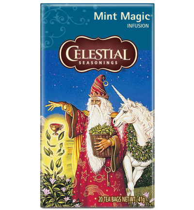 Mint magic tea