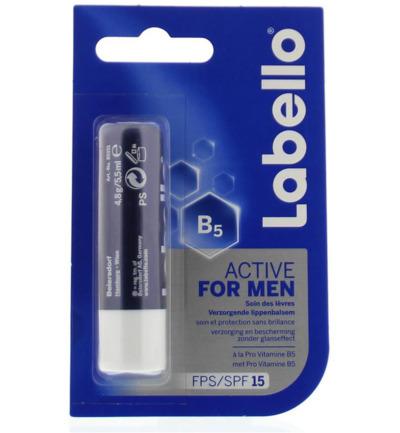 Active for men SPF15 blister