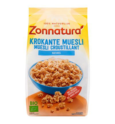Krokante muesli haver naturel