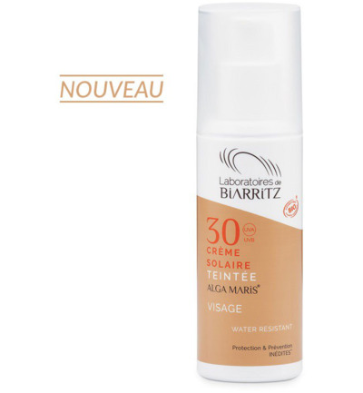 Sunscreen tinted daycream f30 light