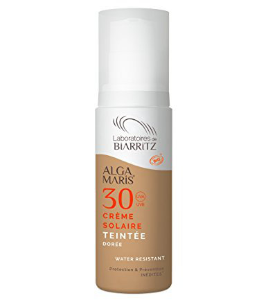 Sunscreen tinted daycream f30 gold