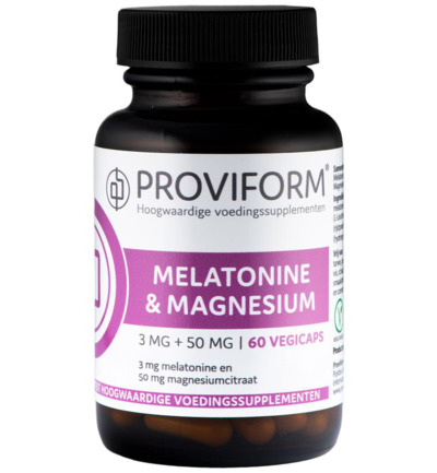 Melatonine 3 mg met 50 mg magnesiumcitraat