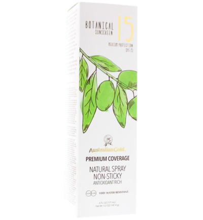 Botanical continuous spray SPF15