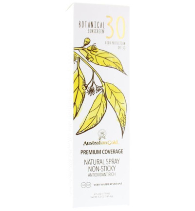 Botanical continuous spray SPF30