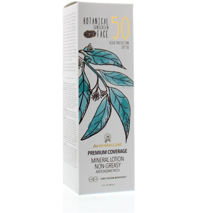 Botanical tinted face lotion SPF50