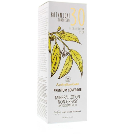 Botanical lotion SPF30