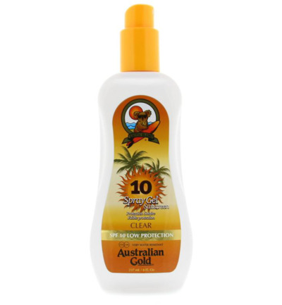 Spray gel SPF10