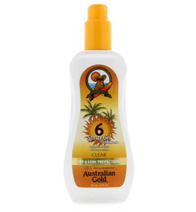 Spray gel SPF6