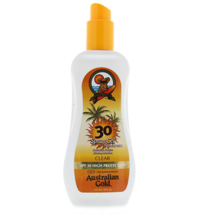 Spray gel SPF30
