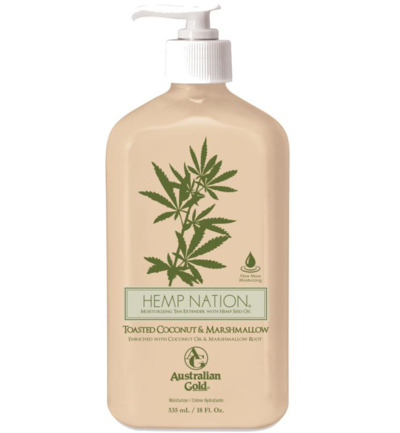 Hemp nation bodylotion toasted coconut & marshmal