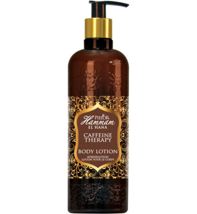 Caffeine therapy body lotion