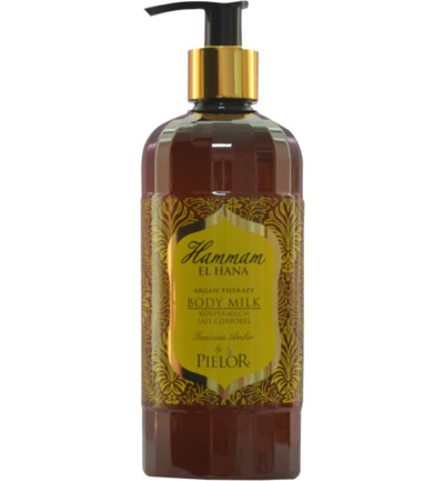 Argan therapy Tunisian amber body milk