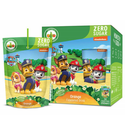 Kids drink Paw patrol orange 200 ml