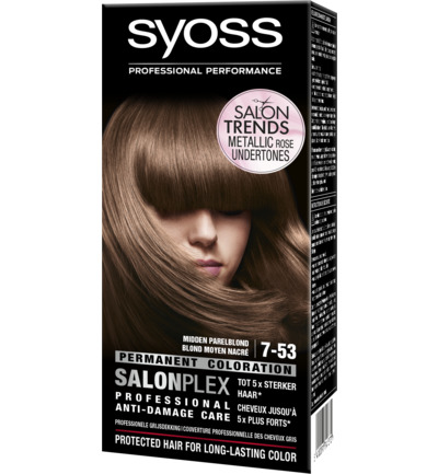 Permanent Coloration 7-53 Midden Parelblond