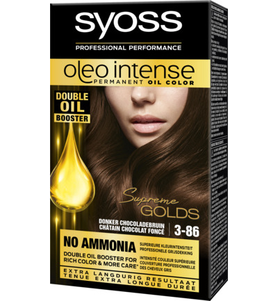 Oleo Intense Permanent Oil Color 3-86 Donker Chocoladebruin