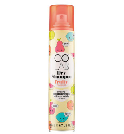Dry shampoo fruity