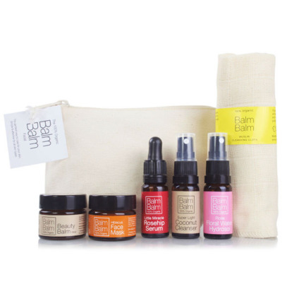 Starter set organic cotton bag
