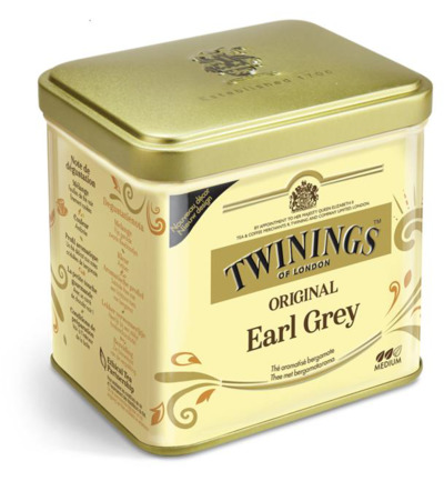 Earl grey thee blik