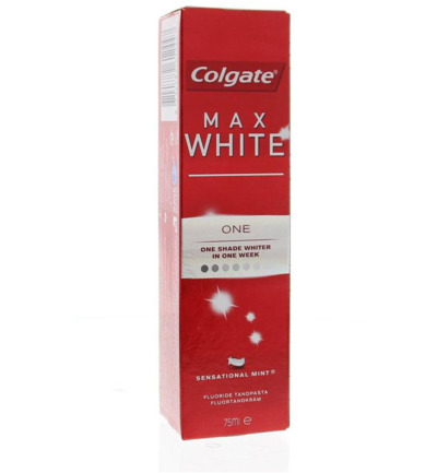 Tandpasta max white one