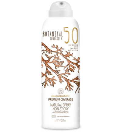 Botanical mineral spray SPF50
