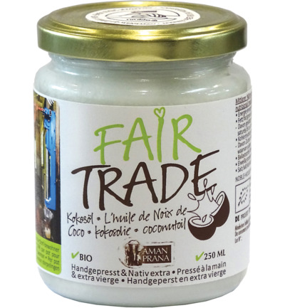 Kokosolie fair trade