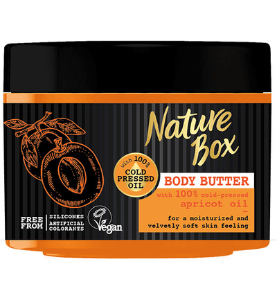 Body butter apricot
