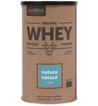 Whey proteine natural