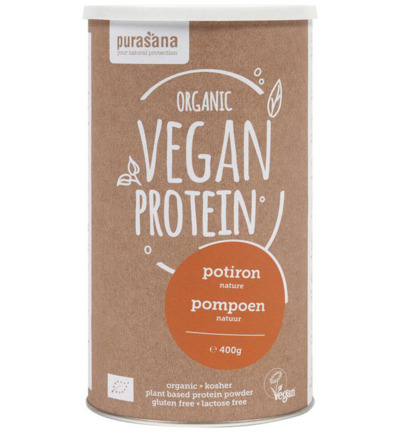 Vegan protein pumpkin natural