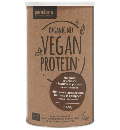 Vegan protein mix pumpkin sunflower hemp cocoa cho