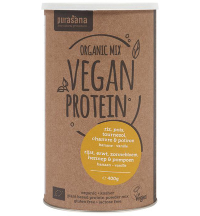 Vegan protein mix pumpkin sunflower hemp ban/van