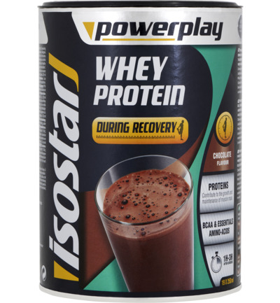 Whey protein during recovery chocolate