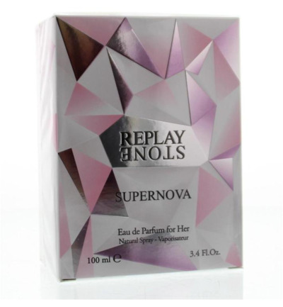 Stone supernova for her eau de toilette
