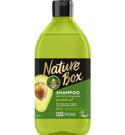 Shampoo avocado