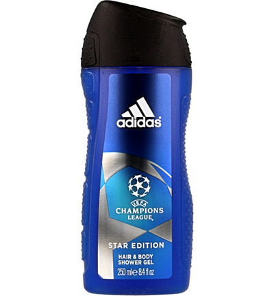 Showergel man champions league