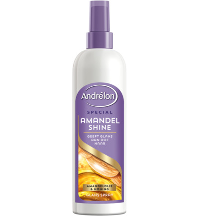 Spray amandel shine