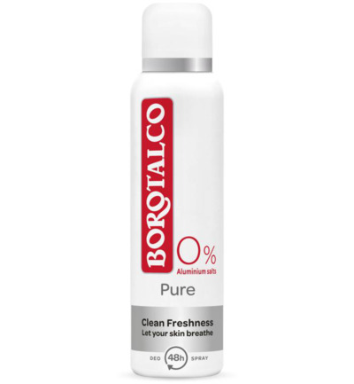 Deodorant spray pure