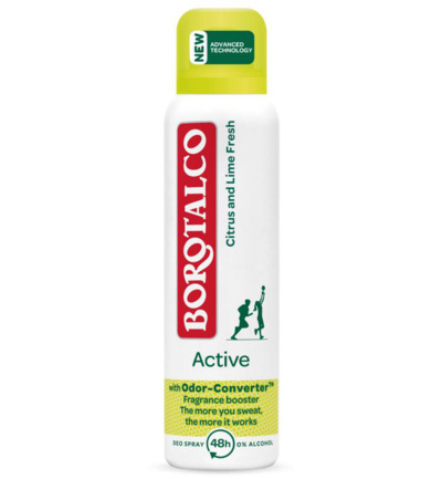 Deodorant spray active citrus