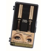 Eyebrow and eyelash dye black premium