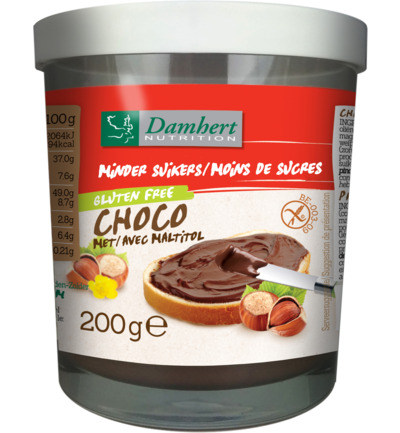 Chocopasta hazelnoot