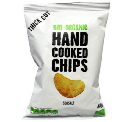 Chips handcooked zout