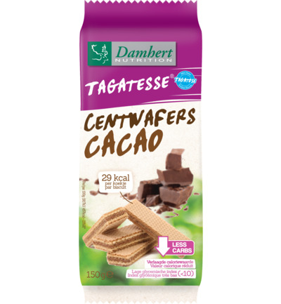 Centwafers chocolade