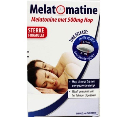 Melatonine time release + hop