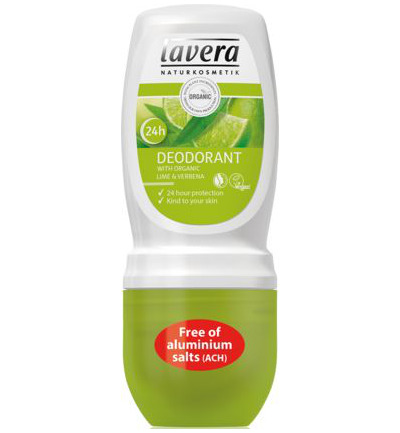 Deodorant roll-on lime and verbena