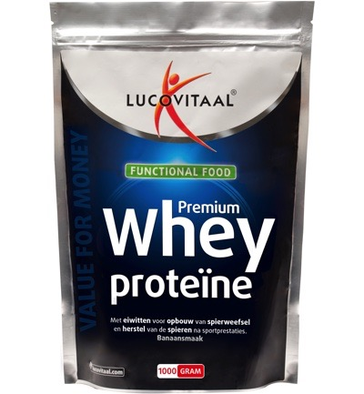 Functional food whey proteine