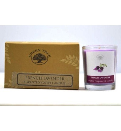 Geurkaars french lavender votives