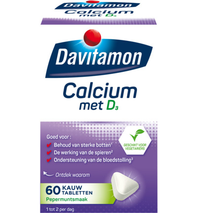 Calcium Met Vitamine D mint