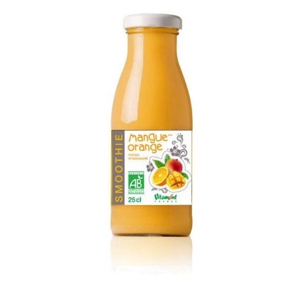 Smoothie sinaasappel-mango bio