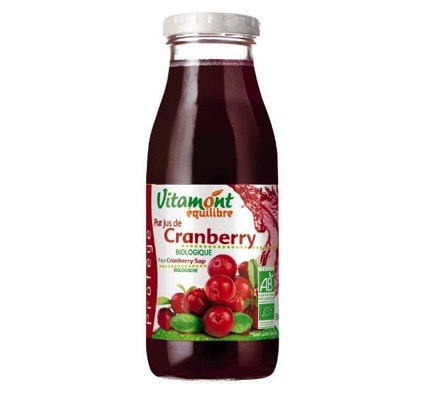 Pure cranberry sap bio