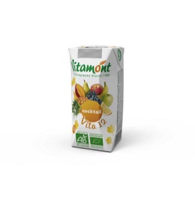 Vitamont Vita 12 Vruchten Cocktail Pak Bio (200ml)
